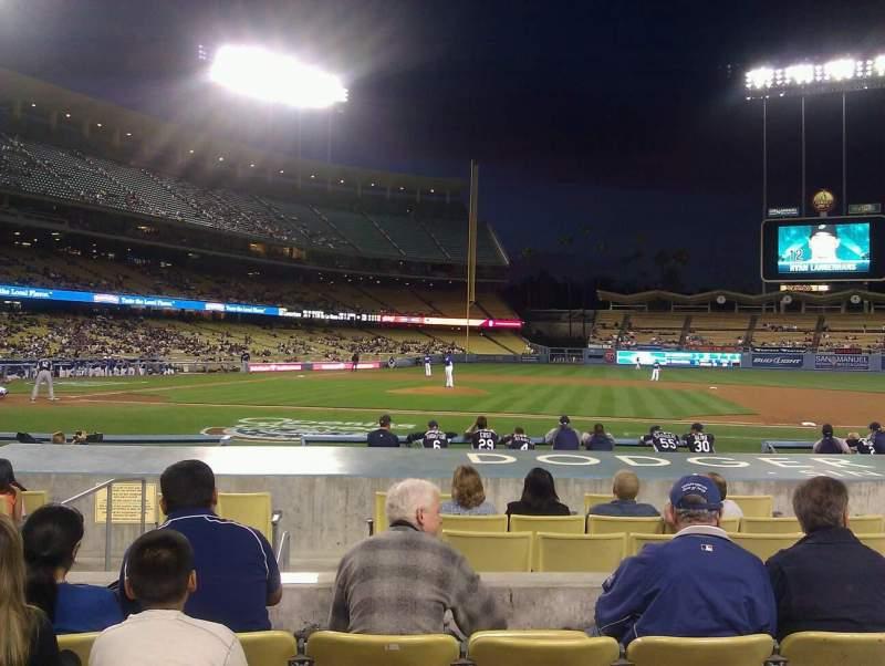 Dodger Stadium, Abschnitt: 18FD, Reihe: E, Platz: 6