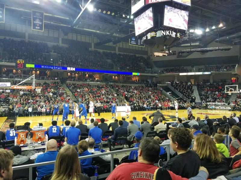 BB&T Arena, Abschnitt: 103, Reihe: D, Platz: 15