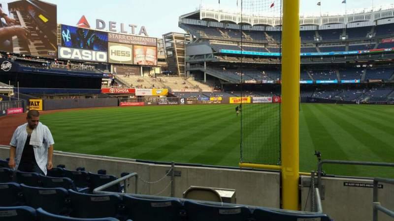 Sitzplatz-Aussicht für Yankee Stadium Abschnitt 132 Reihe 6 Platz 1