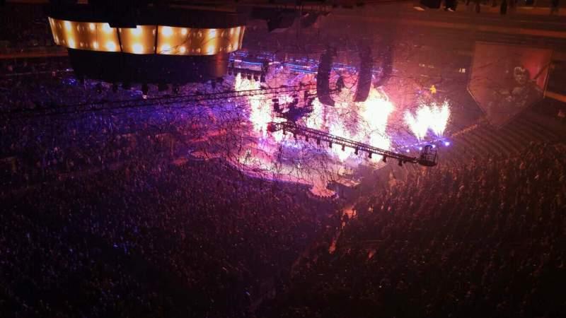 Sitzplatz-Aussicht für Madison Square Garden Abschnitt 311 Reihe 1 Platz 6