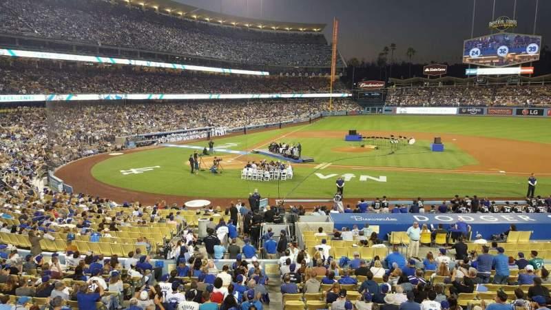 Dodger Stadium, Abschnitt: 128LG, Reihe: A, Platz: 5