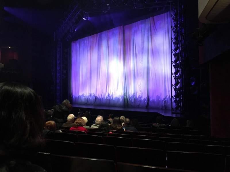 Marquis Theatre, Abschnitt: ORCH, Reihe: L, Platz: 14