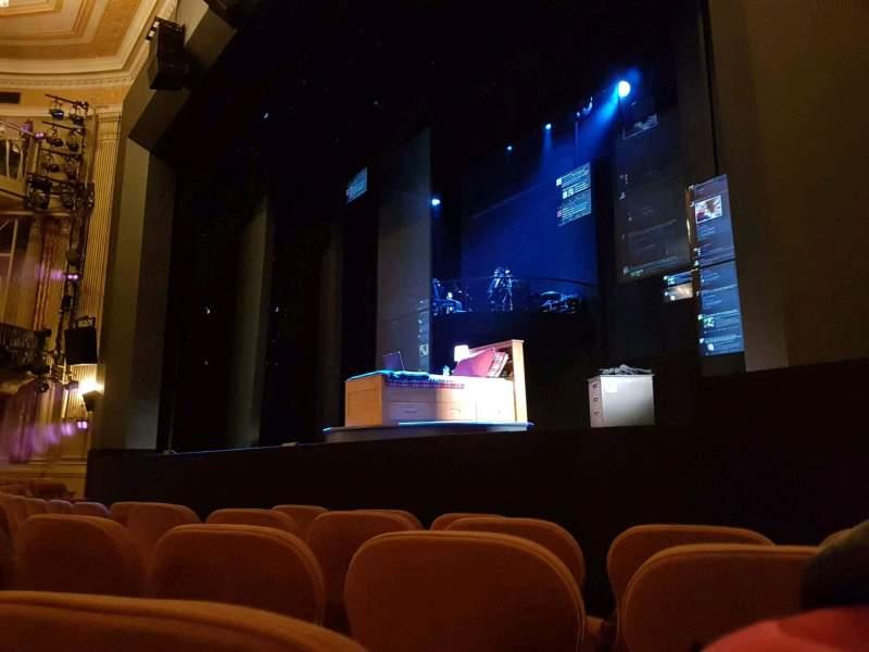 Music Box Theatre, Abschnitt: Orcestra, Reihe: E, Platz: 16