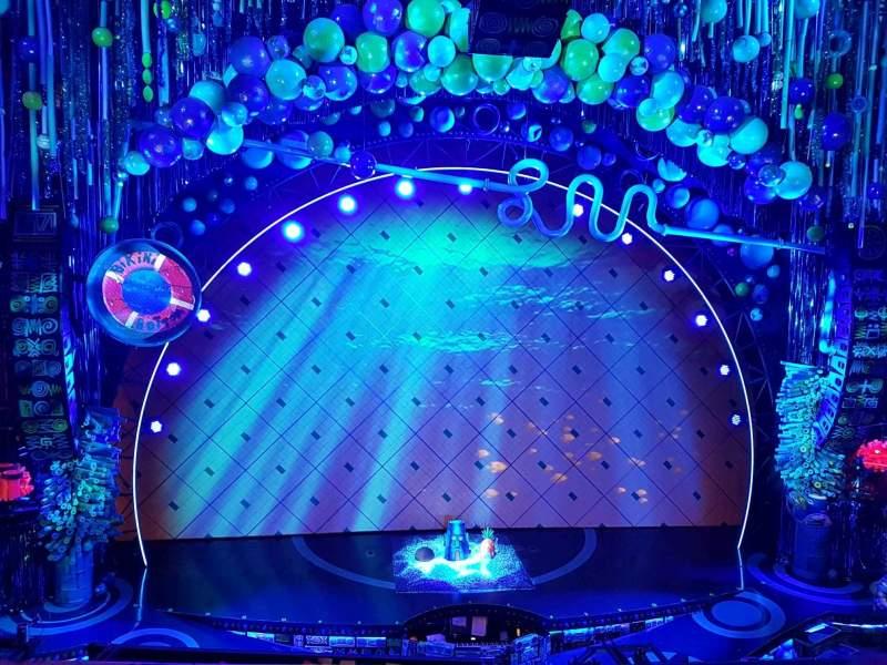 Palace Theatre (Broadway), Abschnitt: Mezzanine, Reihe: A, Platz: 104