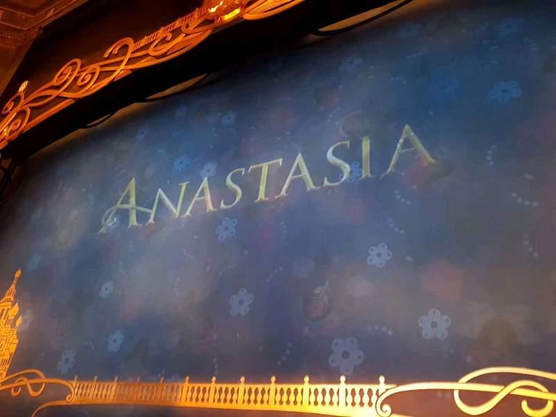 Broadhurst Theatre, Abschnitt: Orchestra, Reihe: B, Platz: 114