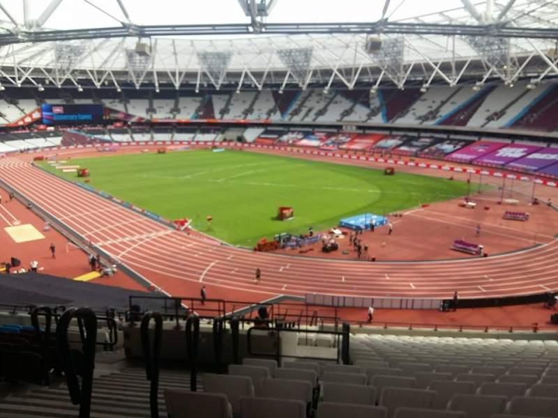 London Stadium, Abschnitt: 216, Reihe: 51, Platz: 175-177