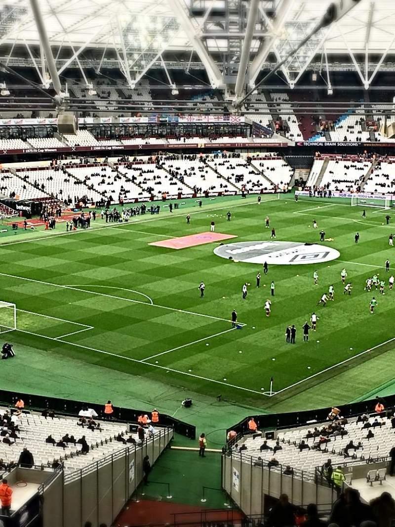 London Stadium, Abschnitt: 228, Reihe: 66