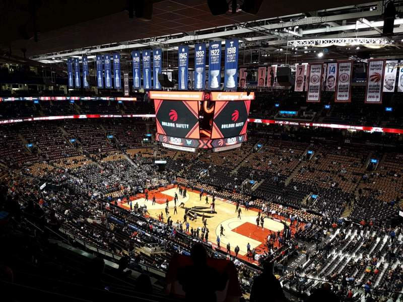 Scotiabank Arena, Abschnitt: 319, Reihe: 12, Platz: 1