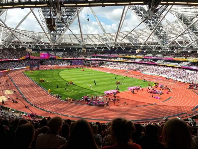 London Stadium, Abschnitt: 245, Reihe: 61, Platz: 142