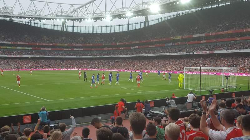Sitzplatz-Aussicht für Emirates Stadium Abschnitt 26 Reihe 11 Platz 821