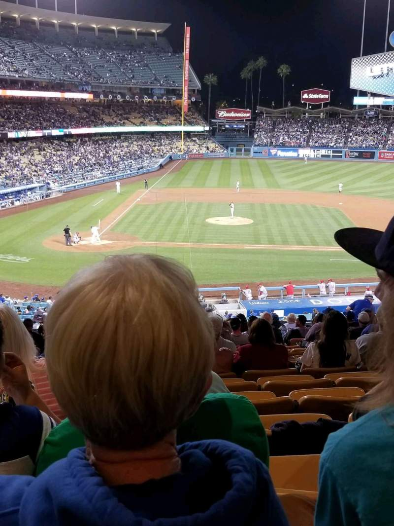 Dodger Stadium, Abschnitt: 126LG, Reihe: S, Platz: 2