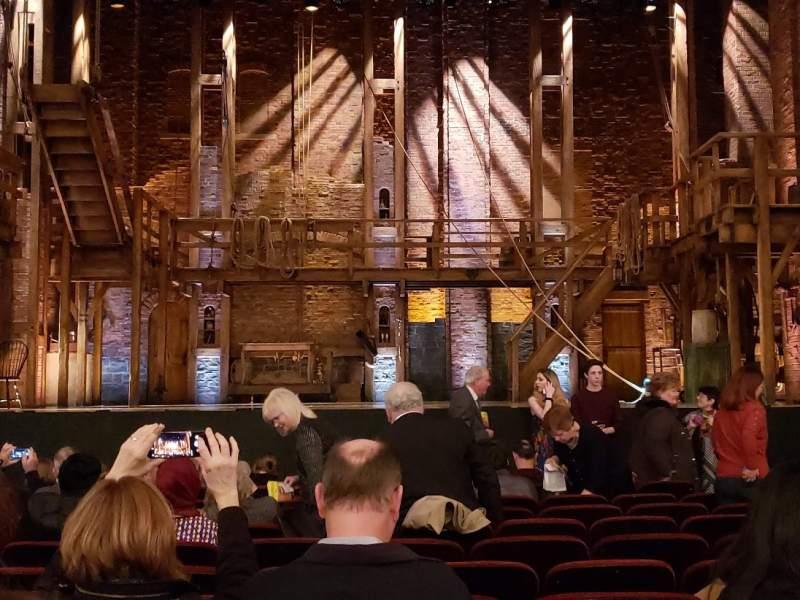 Sitzplatz-Aussicht für CIBC Theatre Abschnitt Orchestra C Reihe M Platz 107