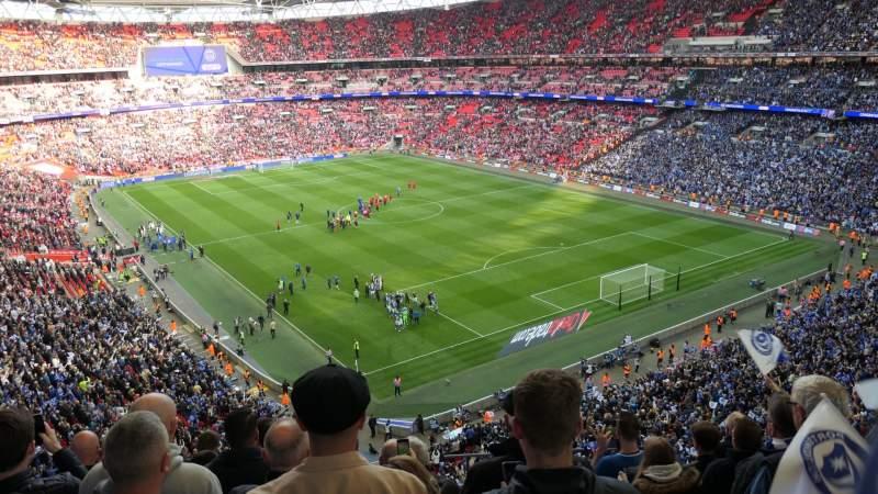 Sitzplatz-Aussicht für Wembley Stadium Abschnitt 544 Reihe 7 Platz 135