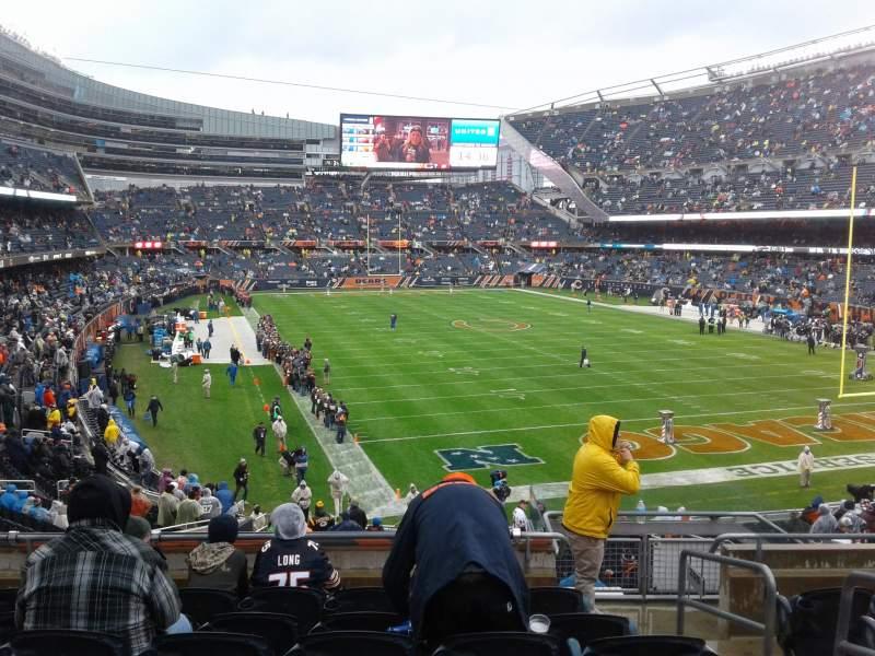 Sitzplatz-Aussicht für Soldier Field Abschnitt 255 Reihe 7 Platz 15