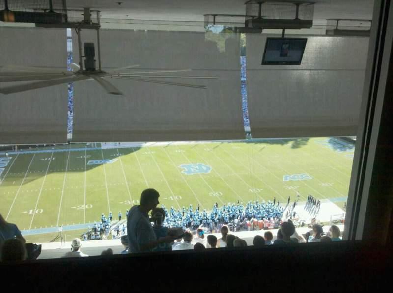 Sitzplatz-Aussicht für Kenan Memorial Stadium Bereich Club Seats
