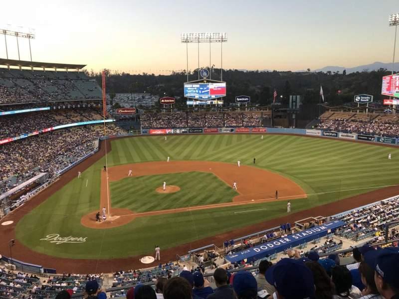 Dodger Stadium, Abschnitt: 8RS, Reihe: G, Platz: 10