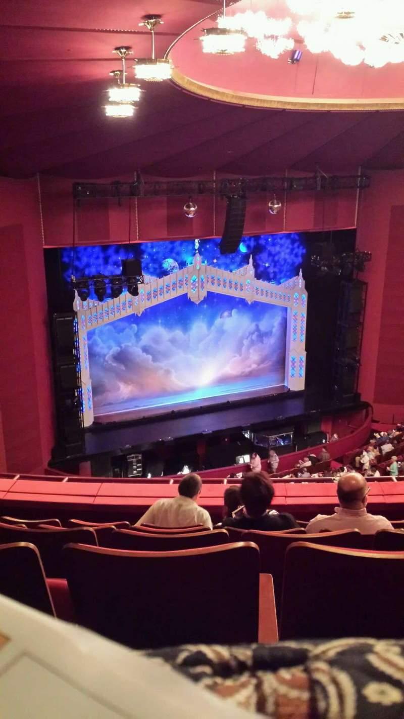Sitzplatz-Aussicht für The Kennedy Center Opera House Abschnitt 2nd Tier Reihe F Platz 131