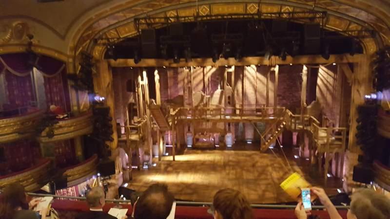 Sitzplatz-Aussicht für Richard Rodgers Theatre Abschnitt Front mezzanine center Reihe E Platz 107