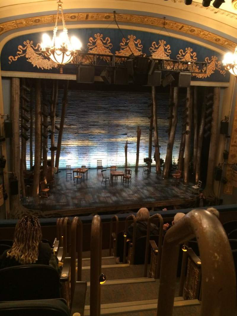 Gerald Schoenfeld Theatre, Abschnitt: Left Mezzanine, Reihe: G, Platz: 1