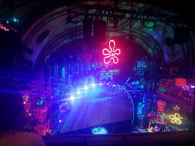 Palace Theatre (Broadway), Abschnitt: Balcony, Reihe: C, Platz: 15