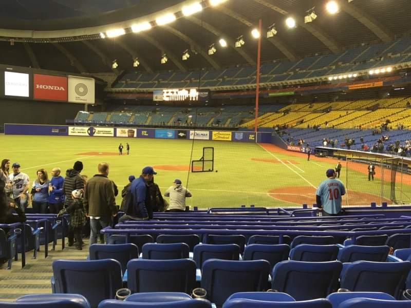 Sitzplatz-Aussicht für Olympic Stadium, Montreal Bereich 106 Reihe QQ Platz 11