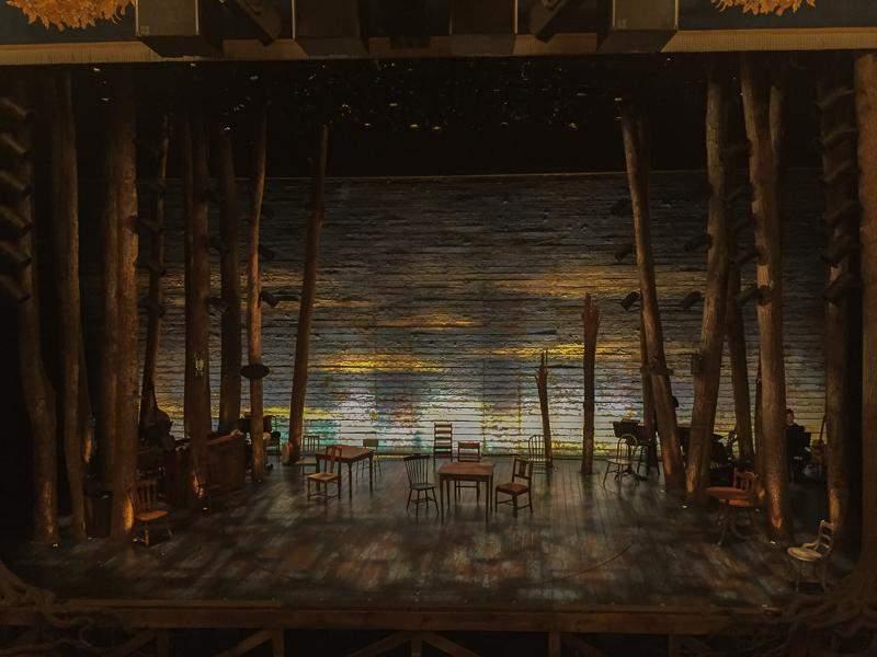 Gerald Schoenfeld Theatre, Abschnitt: Mezzanine, Reihe: A, Platz: 109