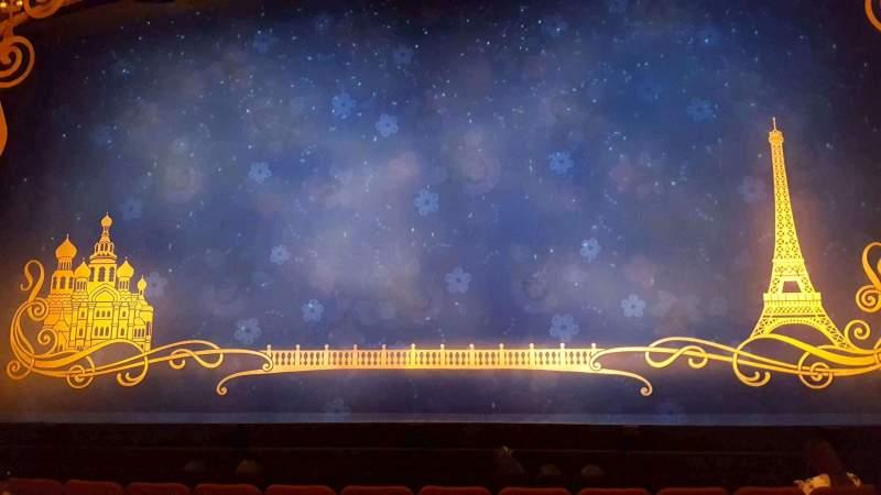 Broadhurst Theatre, Abschnitt: Orchestra Ctr, Reihe: G, Platz: 110