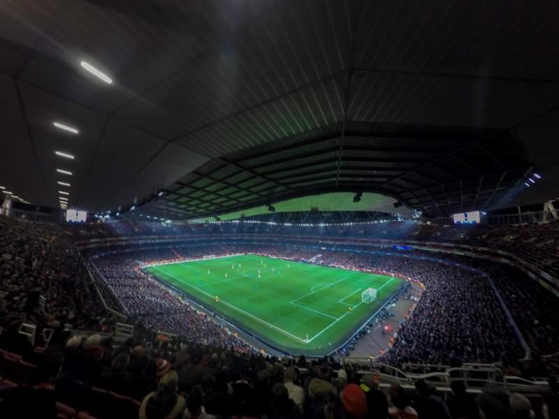 Sitzplatz-Aussicht für Emirates Stadium Bereich 107 Reihe 17 Platz 455