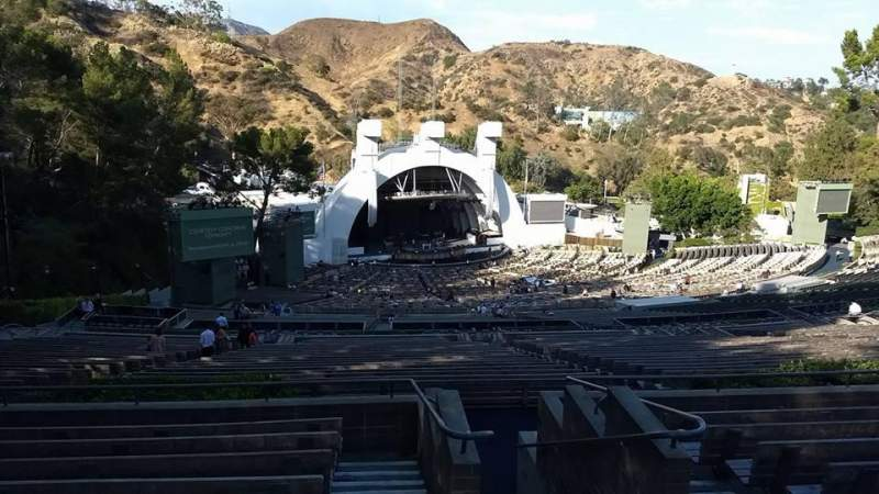 Sitzplatz-Aussicht für Hollywood Bowl Abschnitt U3 Reihe 9 Platz 1