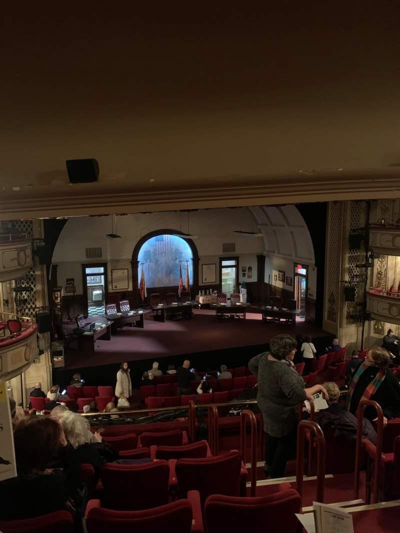 Sitzplatz-Aussicht für Cort Theatre Abschnitt Mezzanine L Reihe G Platz 5
