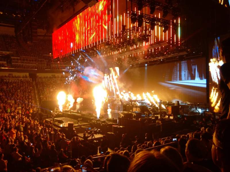 Intrust Bank Arena, Abschnitt: 102, Reihe: M, Platz: 5