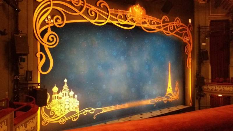 Broadhurst Theatre, Abschnitt: Mezzo, Reihe: A, Platz: 17