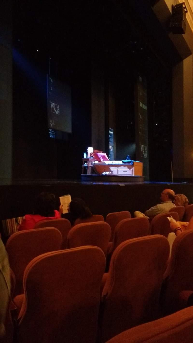 Music Box Theatre, Abschnitt: Orchestra left, Reihe: E, Platz: 15