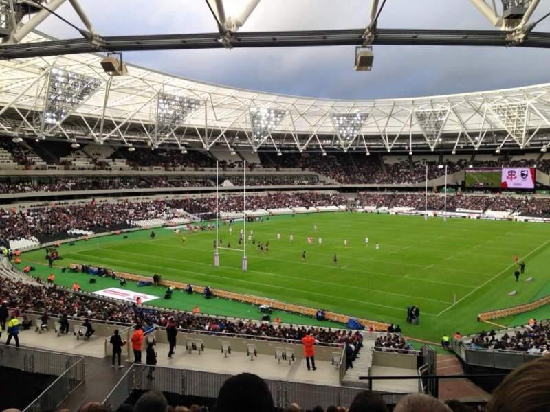 Sitzplatz-Aussicht für London Stadium Abschnitt 227 Reihe 44 Platz 721