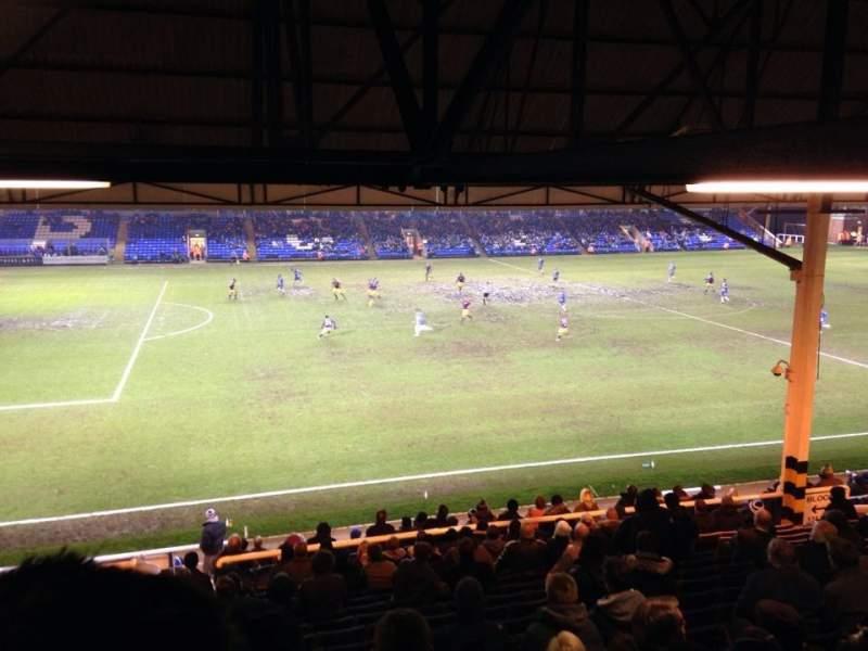 Sitzplatz-Aussicht für London Road Stadium