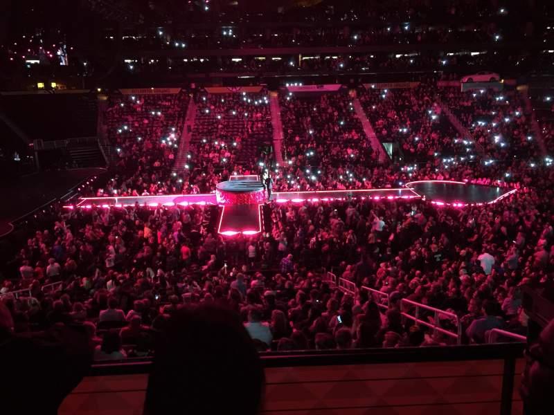 Philips Arena, Abschnitt: 116