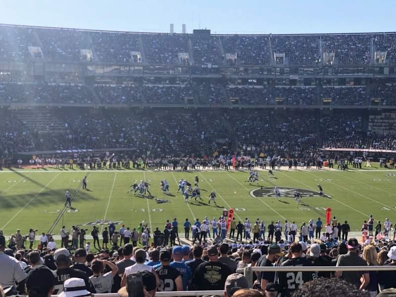 Sitzplatz-Aussicht für Oakland Coliseum Bereich 144 Reihe 45 Platz 12