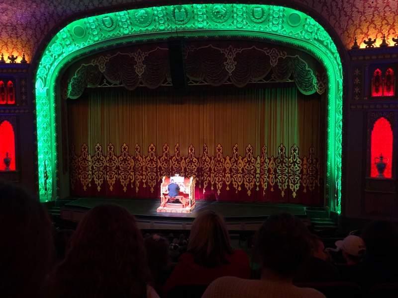 Sitzplatz-Aussicht für Tennessee Theatre Abschnitt Balcony Right Center Reihe EE Platz 14