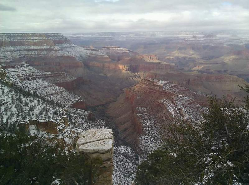 Sitzplatz-Aussicht für Grand Canyon