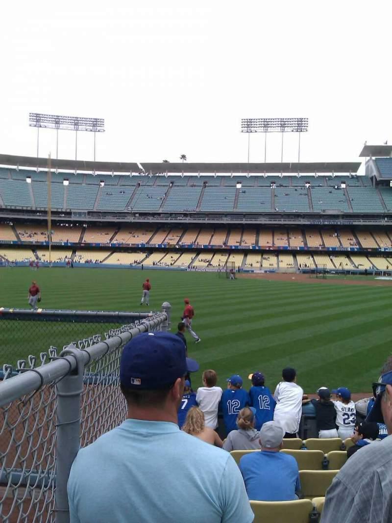 Dodger Stadium, Abschnitt: 53FD