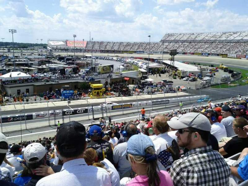 Dover International Speedway, Abschnitt: 245, Reihe: 38, Platz: 20