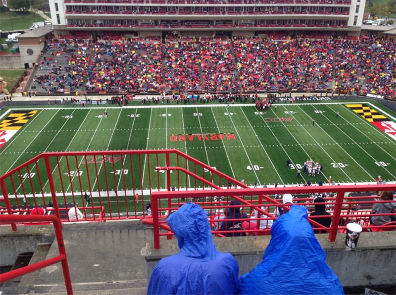 Sitzplatz-Aussicht für Maryland Stadium Abschnitt 306 Reihe L Platz 1