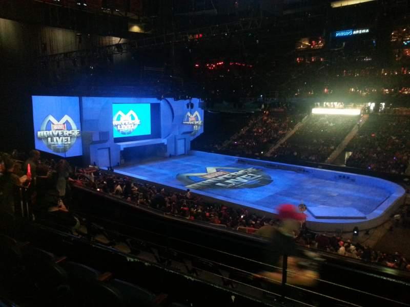 Philips Arena, Abschnitt: 210, Reihe: c, Platz: 1