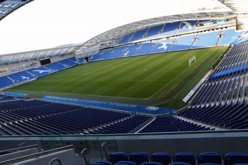Sitzplatz-Aussicht für American Express Community Stadium Abschnitt S2I Reihe D
