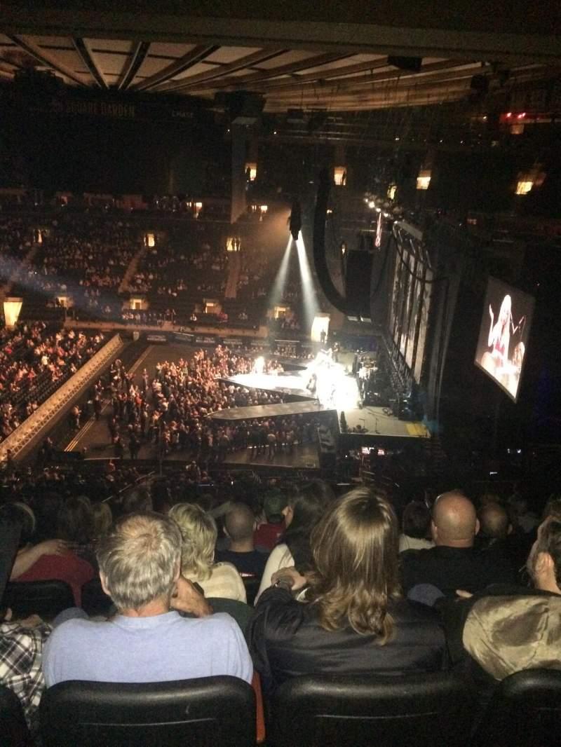 Madison Square Garden, Abschnitt: 212, Reihe: 11, Platz: 10