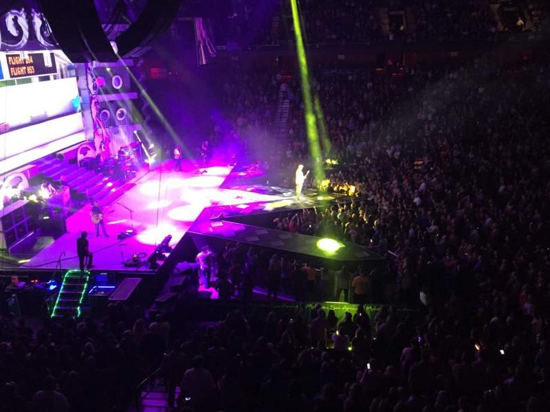 Mohegan Sun Arena, Abschnitt: 118, Reihe: A, Platz: 14