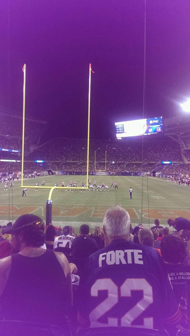 Soldier Field, Abschnitt: 122, Reihe: 12, Platz: 8