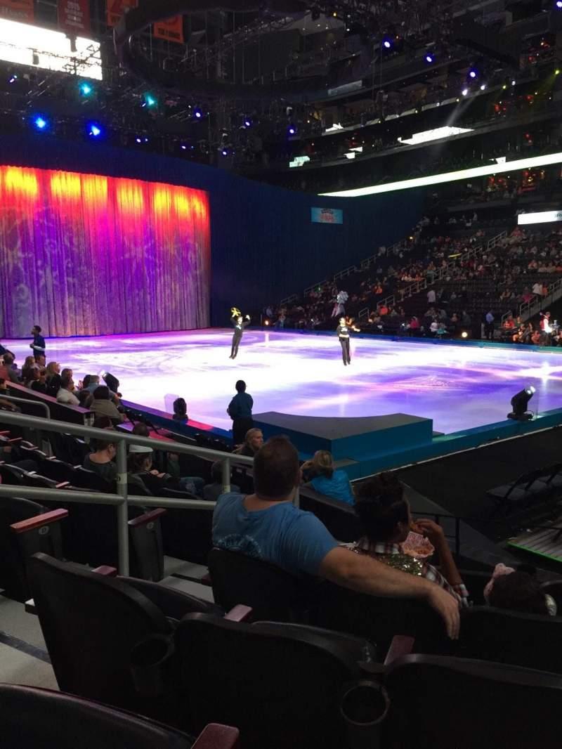 Philips Arena, Abschnitt: 112, Reihe: G, Platz: 10