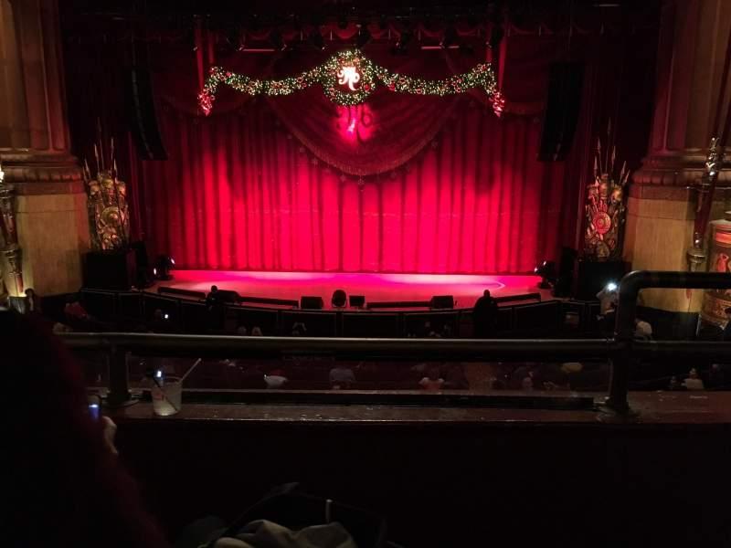 Sitzplatz-Aussicht für Beacon Theatre Abschnitt Loge Center Reihe B Platz 111-112