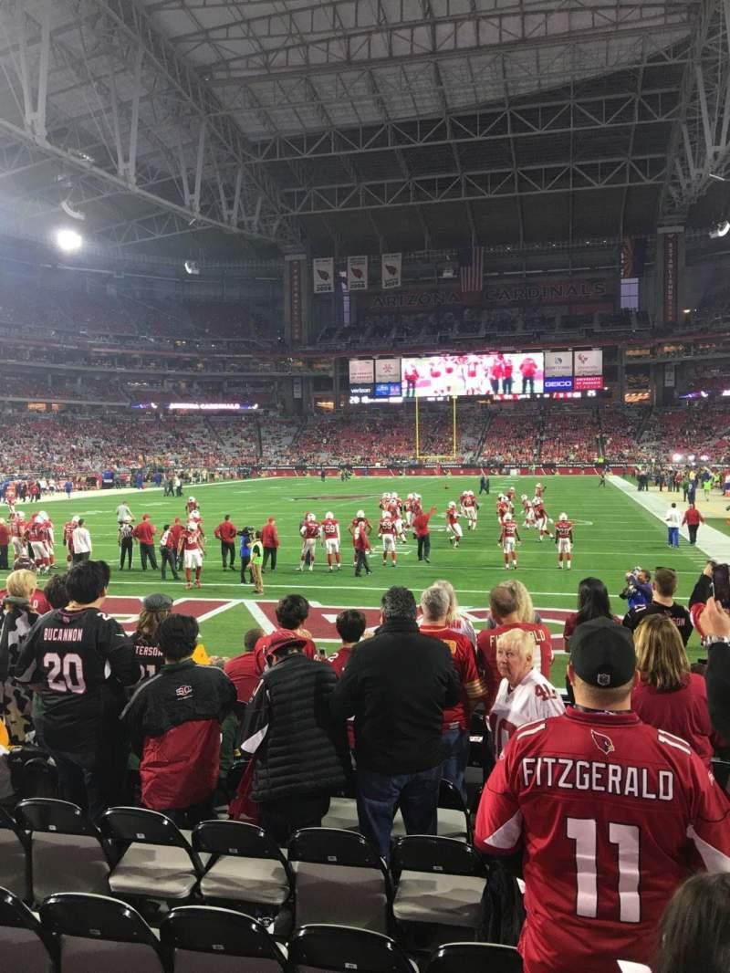 Sitzplatz-Aussicht für University Of Phoenix Stadium Abschnitt 139 Reihe 9 Platz 3